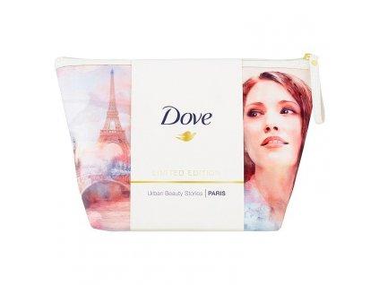 Dove Limited edition PARIS darčekový set + kozm. taška