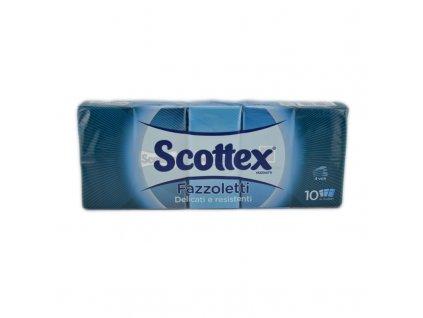 Scottex papierové vreckovky 10 kusov