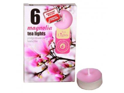 Čajové vonné sviečky (6ks) Magnolia