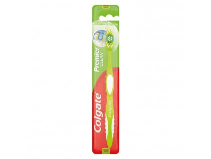 Colgate Premier clean zubná kefka Medium 1 ks