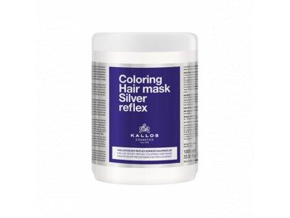 Kallos Silver Reflex Maska na vlasy 1000 ml