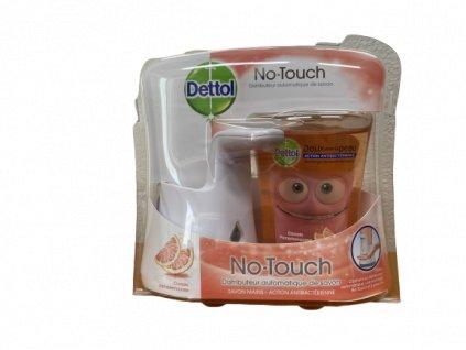 Dettol No Touch grapefruit bezdotykový dávkovač + náplň 250ml