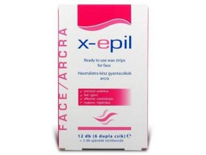 x epil na tvar 12ks