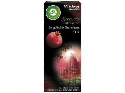 Air Wick Mini Spray Granátové jablko náplň 250ml