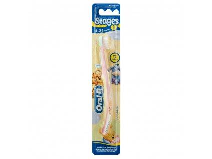 Oral B Zubná kefka pre deti 4 24 mes. Baby soft 1 kus