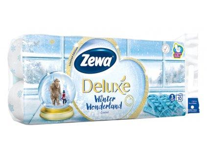 Zewa Deluxe Aquatube Winter Wonderland toaletný papier 16ks