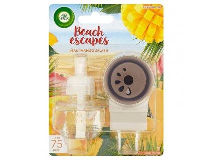 Air Wick Beach Escapes elektrický osviežovač + náplň 19ml