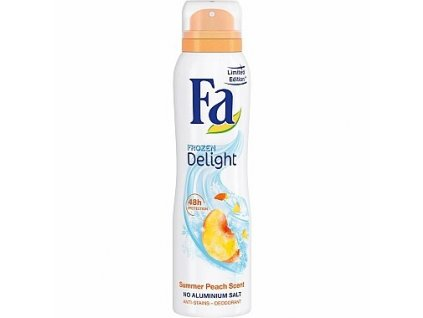 Fa Summer Peach deodorant sprej 150ml
