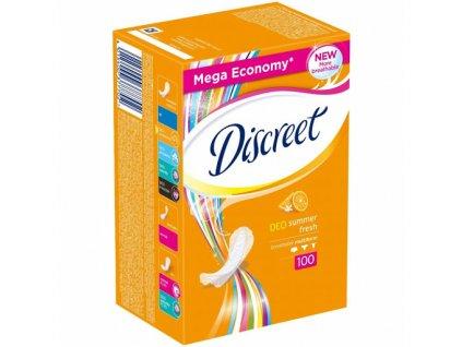 Discreet Deo Summer Fresh hygienické vložky 100ks