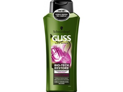 Gliss Kur Bio Tech Restore šampón 400ml
