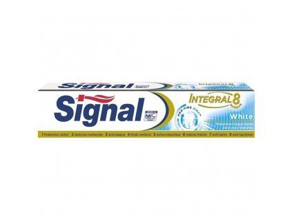 Signal Integral 8 White zubná pasta 75ml