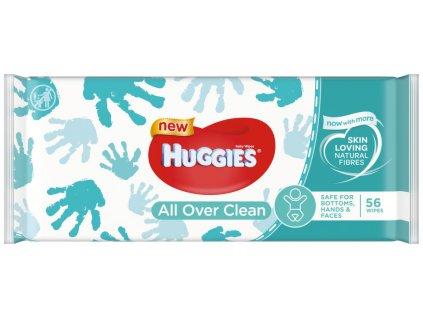 Huggies All Over Clean vlhčené utierky 56ks