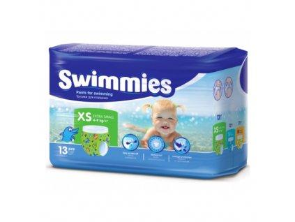 Swimmies Plienky do vody XS 4 9kg 13ks