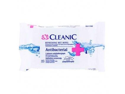 Cleanic vlhčené obrúsky s antibakteriálnym účinkom 15ks