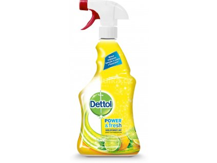 Dettol Power & Fresh Citrus antibakteriálny čistiaci prostriedok 500ml