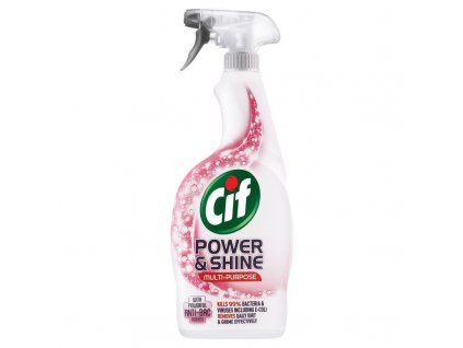 Cif Power & Shine antibakteriálny sprej 750ml