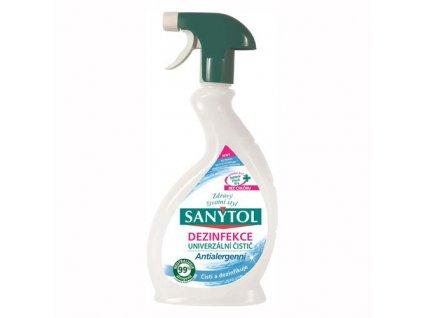 Sanytol dezinfekčný univerzálny čistič v spreji antialergénny 500Ml