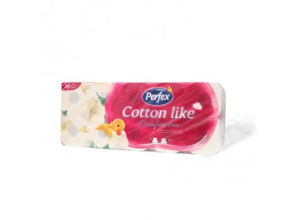 Perfex toaletný papier 10ks 3vr. Cotton comfort line