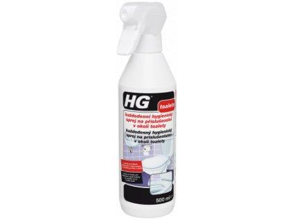 HG každodenný hygienický sprej na príslušentstvo v okolí toalety 500ml