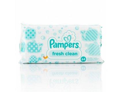 Pampers fresh clean vlhčené utierky 64ks