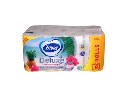 Zewa Deluxe Aquatube Tropical dreams toaletný papier 16ks