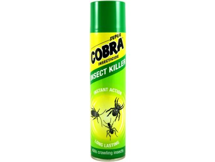 SUPER COBRA Insect Killer sprej proti lezúcemu hmyzu 400ml