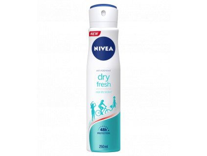 Nivea dry fresh antibakteriálny antiperspirant 150ml