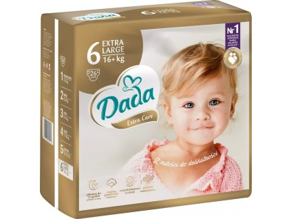 Dada Premium Extra Care 6 XL, 16+KG, 26KS