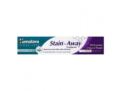Himalaya Stain away zubná pasta 75ml