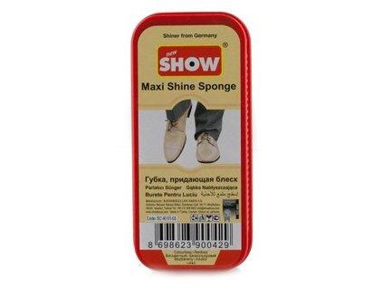 Show maxi shine špongia na topánky bezfarebné