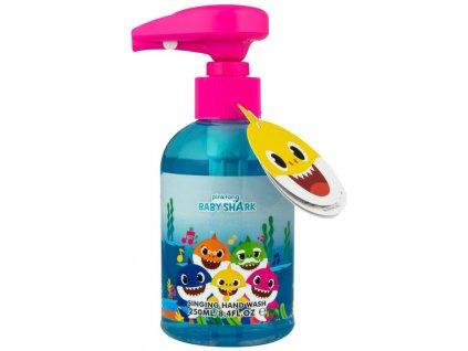 Baby shark spievajúce tekuté mydlo 250ml