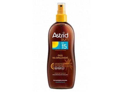ASTRID SUN olej na opaľovanie 200ml OF15