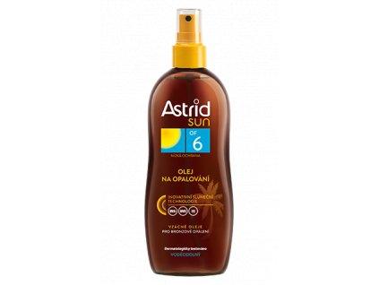 ASTRID SUN olej na opaľovanie 200ml OF6