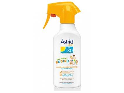 ASTRID SUN mlieko na opaľovanie rodinné OF30 300 ml
