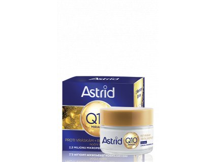 Astrid Q10 Miracle Anti wrinkle & Revitalizing nočný krém 50ml