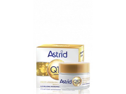 Astrid Q10 Miracle Antiwrinkle & Energizing denný krém 50ml