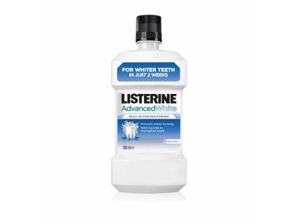 Listerine Advanced White Guard ústna voda 500ml