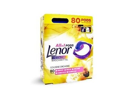 Lenor 3in1 Color Golden Orchid pracie kapsule 80ks