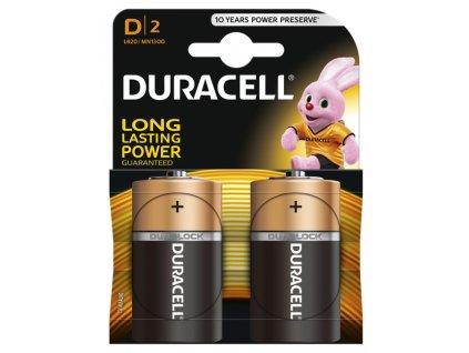 DURACELL LR20 D batéria 2ks