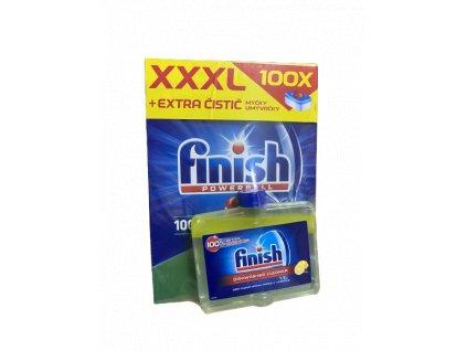 Calgonit Finish Classic tablety do myčky 100 ks + čistič umývačky 250ml