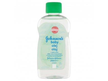 Johnson's Baby olej s aloe vera 200ml