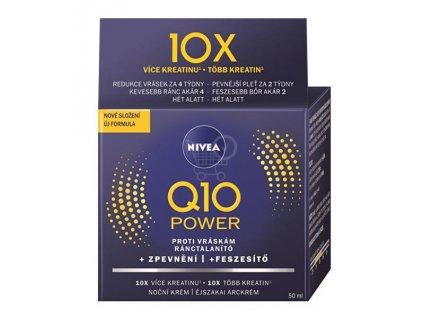 Nivea Q10 Plus C energizujúci denný krém proti vráskam 50ml