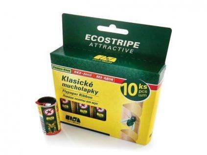 Mucholapka Ecostripe 10ks