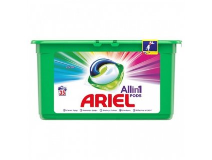 ariel all in 1 pods color g lov kapsuly na pranie 35 pran