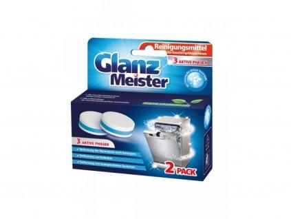 Glanz meister čistič umývačky riadu 2ks