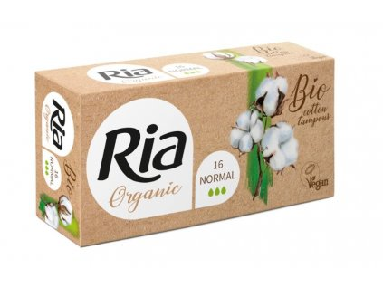 Ria Organic Tampóny Normal 16ks