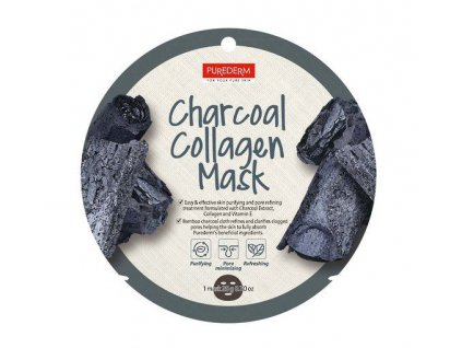 purederm charcoal collagen mask 454 p