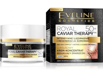 pol pl Eveline Royal Caviar Therapy 50 Krem koncentrat redukujacy zmarszczki na dzien 50ml 46656 1