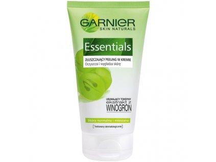 Garnier Skin Naturals Essentials osviežujúci peelingový krém normálnu a zmiešanú pleť 150 ml