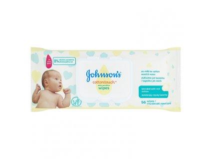 Johnson's Cottontouch vlhčené utierky 56ks